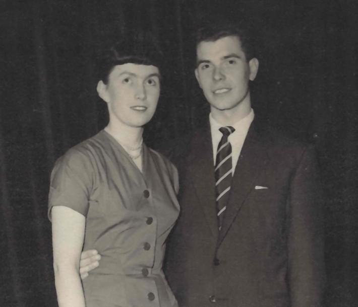 Cath & Tom 1956