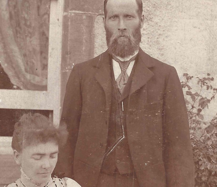 Great Gran & Grampa 1901